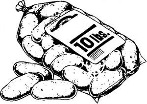 Potatoes in Bag