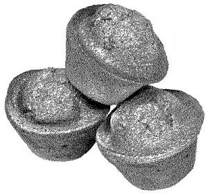 Cornmeal Rice Muffins