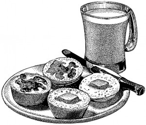 Sliced Muffins