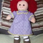 Dressing a Darice Rag Doll - Free Patterns