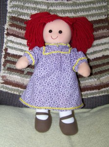 Fully Dressed Darice Rag Doll