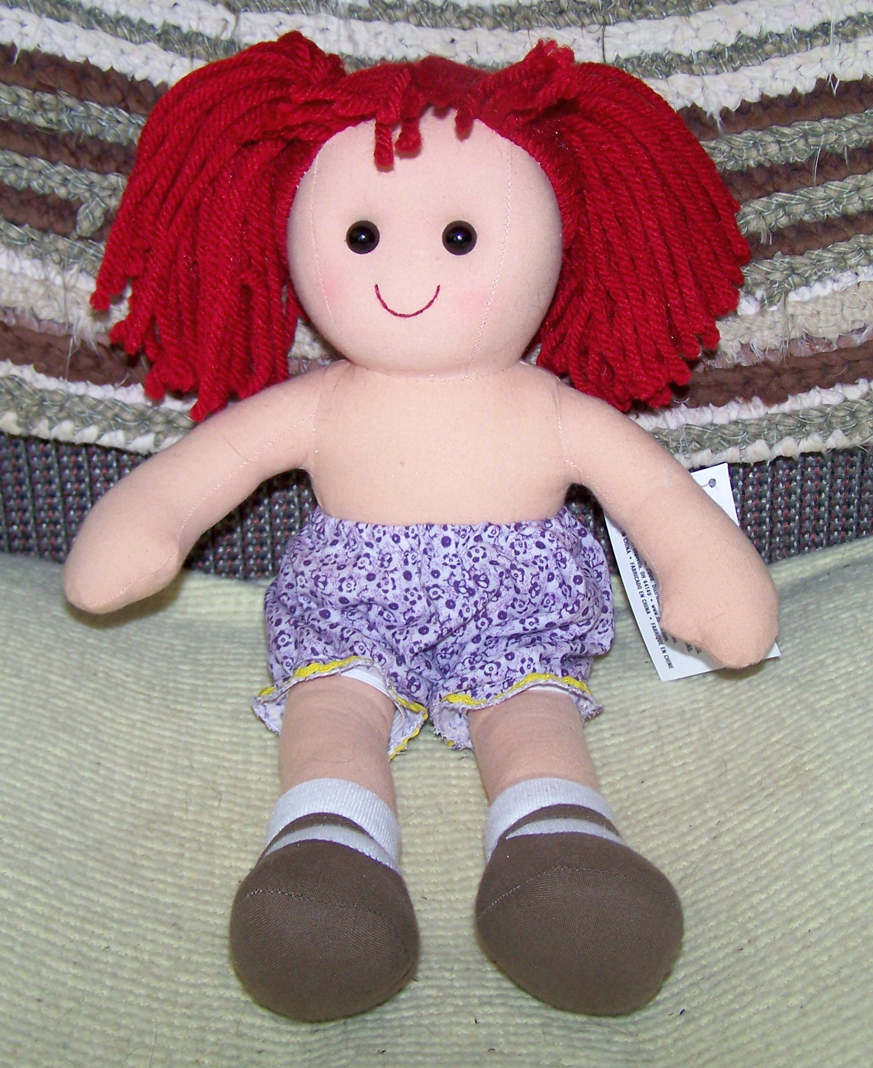 Dressing a Darice Rag Doll – Free Patterns – Frugal Abundance