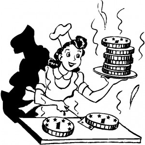 Cooking up cash