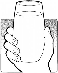 Glass of Soymilk