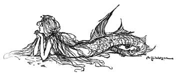 Reclining Mermaid