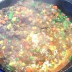 Ground Meat & Veggie Skillet