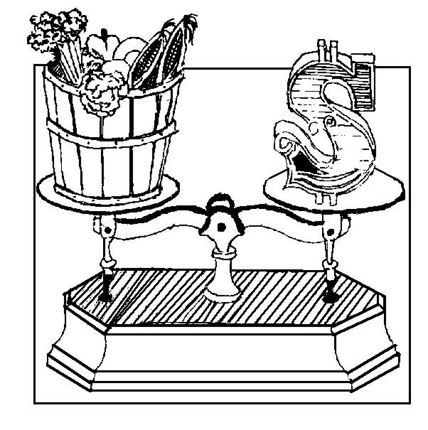 economia do municipio de coloring pages | Natural Foods VS. Processed Foods – Frugal Abundance