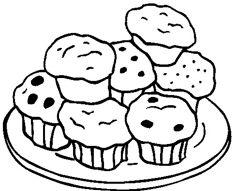 Muffin Pan Drawing be Baked in a Muffin Tin