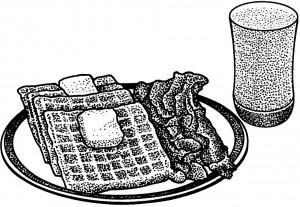 3 Waffles