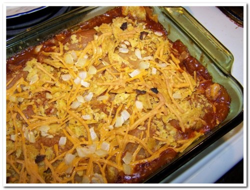 Tamale Chili Bake