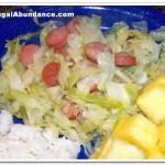 Hot Dog & Cabbage Skillet